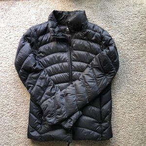 Uniqlo black puff jacket